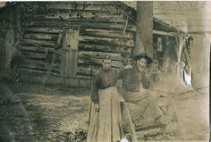 Pioneer Family | Indian Territory Oklahoma by Hand-made Adirondack ... | vintage photo ...