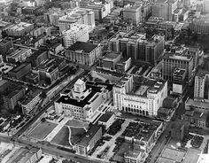 Image from http://waterandpower.org/Historical_DWP_Photo_Collection_LA_Public_Library/Central_Library_Aerial.jpg.