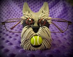 miniature schnauzers - Ya can't help but LoveM :) My bff Mini Schnauzer, Miniature Schnauzer, Eyeglass Holder, Big Dogs, Eye Glasses, Dog Breeds, Cute Pictures, Sculpting, Miniatures