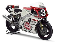 1988 Yamaha YZF750 0WA0. The YZF750 brought Yamaha two consecutive Suzuka 8 hours Endurance Race wins (1987-1988) with pilots Wayne Rainey and Kevin Magee.