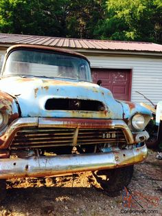 57 Chevy Trucks, Gm Trucks, Cool Trucks, Cool Cars, Chevy For Sale, Rat Rod Pickup, Off Road Adventure, Bad To The Bone, Vintage Trucks