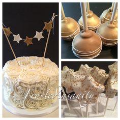 twinkle star cake, cake pops