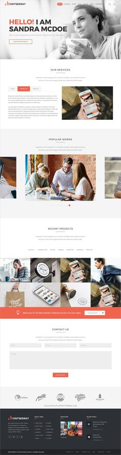 Montserrat is a wonderful responsive HTML5 #bootstrap template for awesome #business website with 12 multipurpose homepage layouts download now➩ https://themeforest.net/item/montserrat-multipurpose-modern-html-template/19455966?ref=Datasata