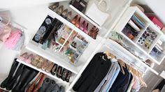 DIY Vanity Light Mirror: https://www.youtube.com/watch?v=wb8D_1L8n50 Ikea Stolmen Closet: http://bit.ly/12bPF99 Floating Shoe Shelf