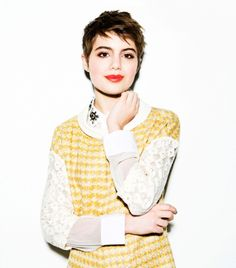 4 Ways To Transition Your Wardrobe For Spring, With Actress Sami Gayle - great pixie cut