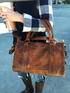 Just bought this Frye purse Clothing, Shoes & Jewelry : Women : Handbags & Wallets : hand bags women   http://amzn.to/2ltHr9V