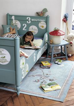 ATELIER RUE VERTE le blog: Chambres d'enfants [1]. Counting sheep bed
