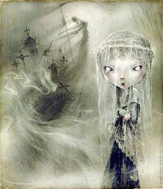 Artist: Elian Black' Mor More creepy art