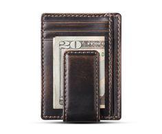 CARRYALL MAGNETIC Front Pocket Wallet  BLACK  Money Clip