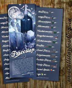 Fröccs lap - Drink Card