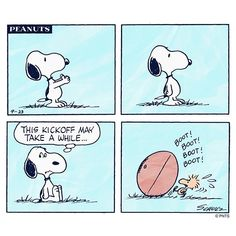 Looking forward to watching my recorded football. Charlie Brown Movie, Charlie Brown Quotes, Charlie Brown And Snoopy, Snoopy Quotes, Cartoon Quotes, Peanuts Quotes, Peanuts Cartoon, Peanuts Snoopy, Peanuts Comics