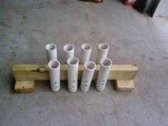 http://www.instructables.com/id/PVC-Fishing-Rod-Holder/