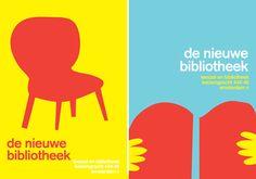 De nieuwe bibliotheek posters by Georgia Perry