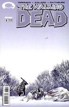 "The Walking Dead 008 Vol. 2 ""Miles Behind Us"" #TheWalkingDead #comic #comics #Free #amc"