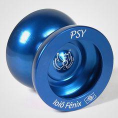 Ioiô Fênix Psy Azul / Veja na Casa do Ioiô: http://casadoioio.com.br/loja/ioio/ioios-free-style/psy/