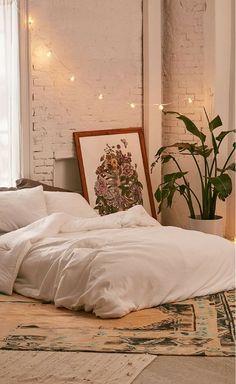 Boho Bedroom Goals #bedding #urbanoutfitters #boho #bohostyle #bohohomedecor #rustichomedecor #bedroomgoals #cozyroom #bedroom #homestyle #homedecor #urbanoutfitters #affiliate