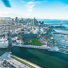 AT&T Park in San Francisco by copterpilot by San Francisco Feelings