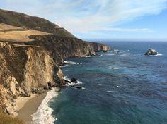 THE prettiest landscape I've ever seen!  Pacific Coast Hwy between La & San Fran