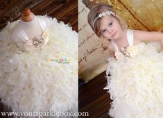 feather tutu dress by Your Sparkle Box