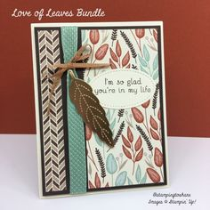 Stampin\' Up! Love of Leaves Bundle for Fall Card Making