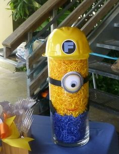 Paper shreds Minion