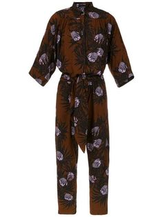 11f24021125a Andrea Marques printed jumpsuit $500 - Buy AW19 Online - Fast Global  Delivery, Price Printed