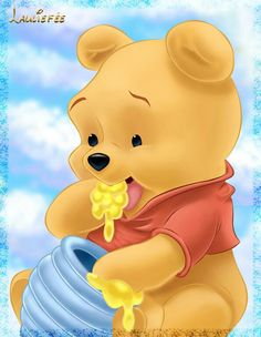 I love pooh thats how i got my nickname