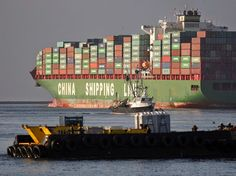 Founded in 1997, Shanghai based CSCL currently (May 2014) operates 148 vessels, with a total capacity of 656,000 TEU. China Shipping Container Lines is the 7th largest global container shipping liner by capacity.