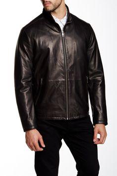 Garrett Genuine Leather Jacket