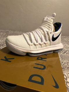 buy popular 22aff 39fc1 Nike KD10 Limited NBA Golden State Warriors GS Youth AJ7781-101 White Royal  GSW  fashion  clothing  shoes  accessories  kidsclothingshoesaccs   boysshoes ...