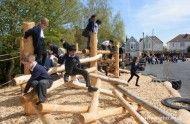 play area log tangle