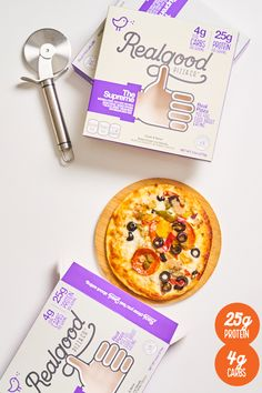 Now Available at Walmart! Pizza with ONLY 4g Carbs per serving.
