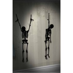 Hanging Skeletons Wall Add-Ons