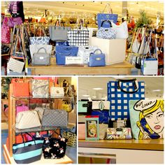 Kate Spade handbags add the perfect finishing touch to any outfit! Whether you want a bold handbag to take center stage or a smaller crossbody for the perfect accent piece, Kate Spade is sure to have a handbag for you! #VonMaur #KateSpade #Handbags