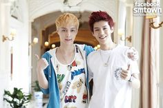 Lay and Luhan - EXO