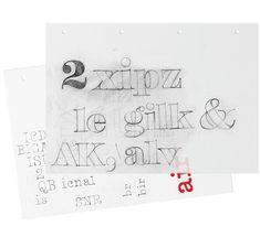 Poster typeface by Iñigo Jerez