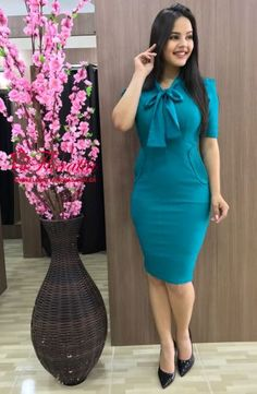 Fashion Wear, Work Fashion, Modest Fashion, Womens Fashion, Classy Outfits, Chic Outfits, Girly Outfits, Modest Dresses, Cute Dresses