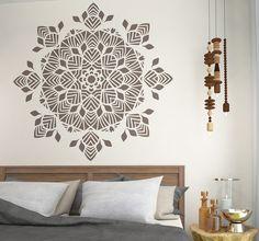 Geometric Symmetrical Mandala Stencil