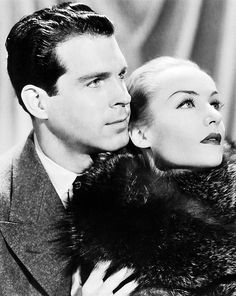 Carole Lombard and Fred MacMurray in The Princess Comes Across, 1936 Old Hollywood Glamour, Golden Age Of Hollywood, Vintage Hollywood, Classic Hollywood, Classic Actresses, Classic Films, Actors & Actresses, Hollywood Actresses, Old Fashioned Love