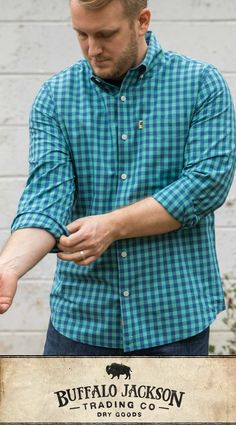 No rules on how to wear this men's lightweight gingham long sleeve button down shirt. For casual fall or spring style, outfit it with jeans and boots. These shirts make great gifts for guys Great Gifts For Guys, Best Gifts For Men, Men Gifts, Mens Flannel, Flannel Shirts, Men's Shirts, Gingham Shirt, Men Casual, Casual Fall
