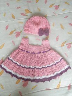 Petit Kiwi: Vestido de Bebê
