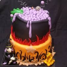 magical spooky cake - Google Search