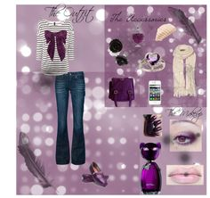 """Pretty In Purple"" by melodysmiles24 on Polyvore"