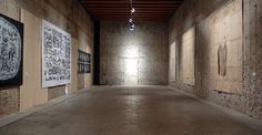 Sala Pamphili, Complesso degli Agostiniani, Rimini / Biennale del disegno