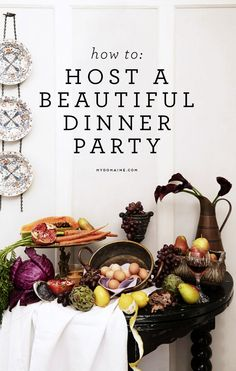 Want to host a dinner party? You should read this first