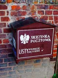 Post Box - Polish Post Office in Free City Gdansk