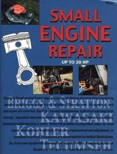 tecumseh ohv 4 cycle small engine repair manual pin it pinterest rh pinterest com Tecumseh Engine Parts Diagram 4 HP Tecumseh Engine Manual