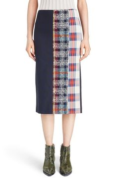 ACNE Studios 'Polina' Pieced Midi Skirt available at #Nordstrom