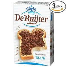 Deruyter Chocoadehagel Melk(Milk Chocolate Sprinkles), say no to wax sprinkles.........MEMORIES!