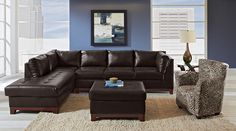 Monterey Leather Collection - Value City Furniture Value City Furniture, Sofa, Couch, Best Sellers, Living Room Furniture, Corner, American, Leather, Collection